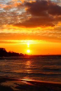 Golden Light - Winter Sunset!