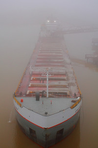'The Calumet' - Unloading in the Fog!!