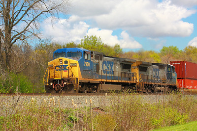 CSX #7900 - Heading Toward Greenwich!