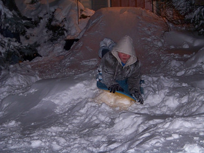 Sledding@Night!