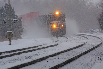 NS #2677 - With a Snowy Blast, Rounding the Bend!