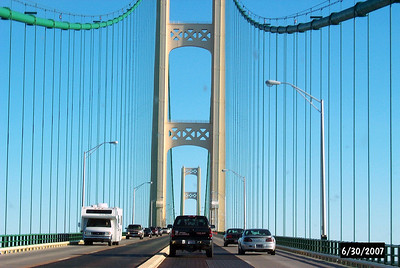 Mackinac Bridge - Drivers's View
