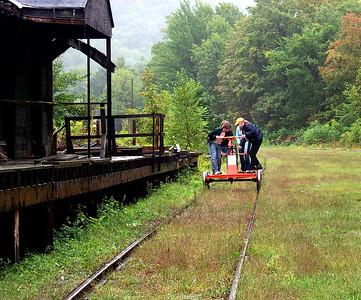Rail Car Fun!