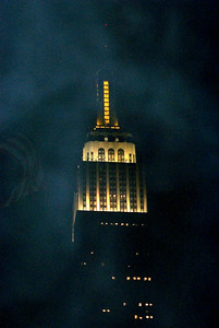 Empire State in the Fog!