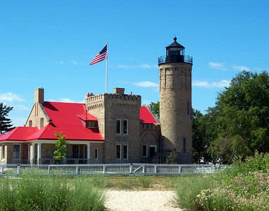 Old Mackinac Point Lighthouse!