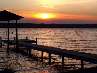 """Dock of the Lake"""