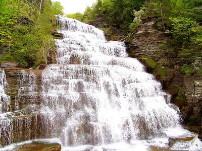 Roadside Waterfall!