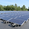 Alpha Rho in Fitchburg has put in solar panels that will produce more than 80 percent of the power needed to run the company's manufacturing warehousing and administrative operations. The panels where put in, on the company's roof, by New England Clean Energy out of Hudson. SENTINEL & ENTERPRISE/JOHN LOVE