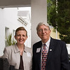 Alpha House Development Assistant Anna Dickerson and Board Member Dr. Ed Mierzejewski
