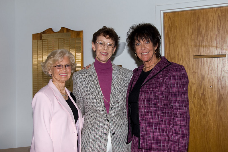 Alpha House's Executive Directors (l to r): Sister Rosalie Hennessey (first), Bonnie Christiano (second) and Keral Kronseder (current)