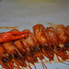January 3, 2012 - Crab claw on top of shrimp heads