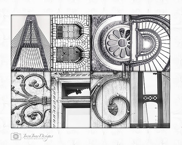 4x6 Alphabet Photography