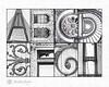 4x6 Alphabet Photography