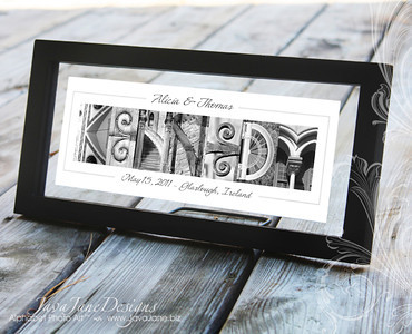Custom Alphabet Photography