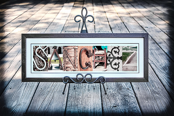 0-Rustic Letters