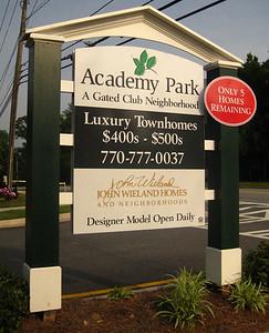 Academy Park Townhomes In Alpharetta (2)
