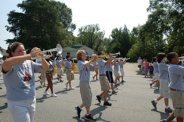 Alpharetta High Marching Band in the Old Soldiers Parade 2006