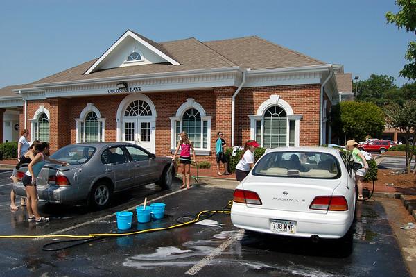 Alpharetta High Spring 2006 Color Guard Car Wash