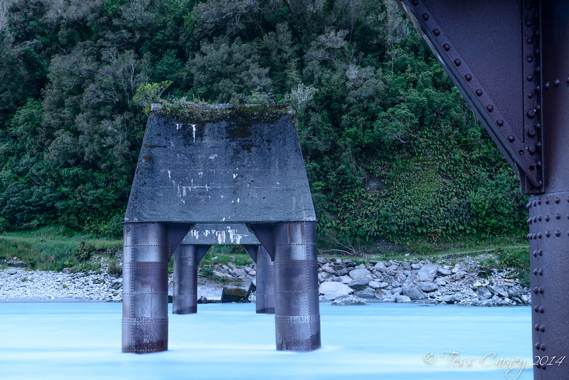 The Whataroa on the west coast of New Zealand was the the river of gold and this bridge remains.