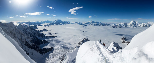 Hummingbird Ridge, Mount Logan, Canada
