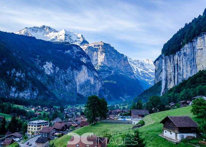 Lauterbrunnen and Jungfrau