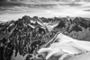 The French Alps (Black and White)