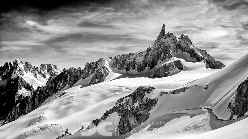 Dent du Géant (4013 meters)