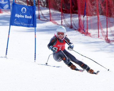 3-19-09 CO Jr. Ski Cup GS at Steamboat - Ladies 1&2