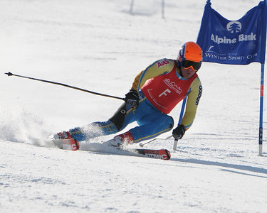 3-20-09 CO Jr. Ski Cup GS at Steamboat - Ladies 1st
