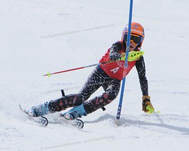 3-21-09 CO Jr. Ski Cup SL at Steamboat - Ladies 1st