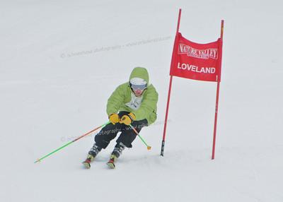 1-7-11 CHSSA GS at Loveland - Ladies Run #1
