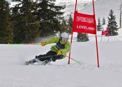 1-7-11 CHSSA GS at Loveland - Ladies Run #2
