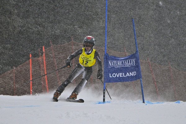 1-7-12 Age Class GS at Loveland A.M. Practice - Ladies