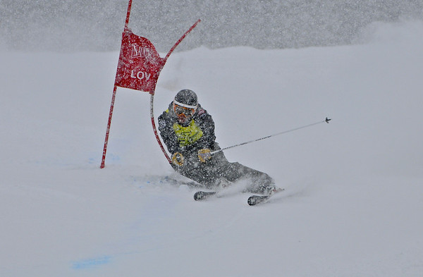 1-7-12 Age Class GS at Loveland P.M. - Ladies Run #1