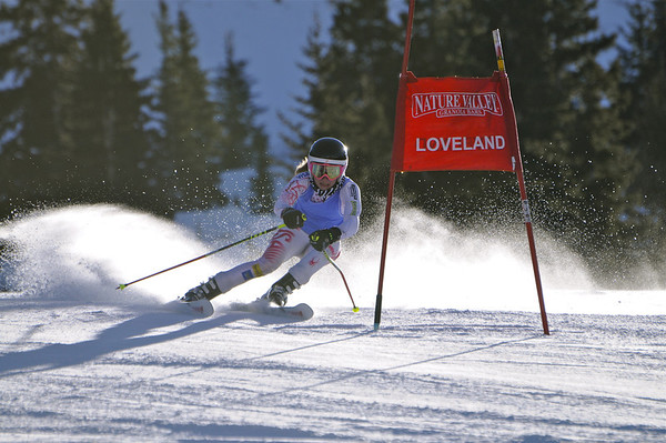12-10-11 Masters GS at Loveland - Run #1