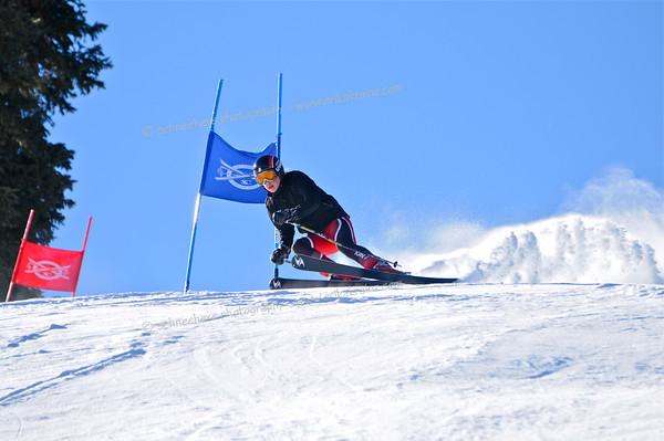 1-19-13 Masters GS at Ski Cooper - Run #1