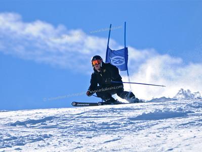 1-19-13 Masters GS at Ski Cooper - Run #2
