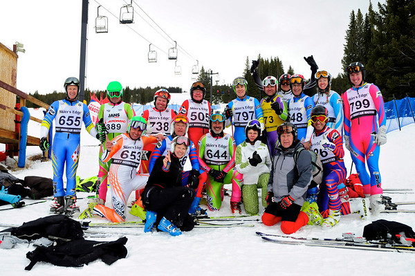 3-3-13 Masters DH at Ski Cooper - Group Shots