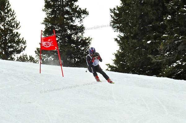 3-3-13 Masters DH at Ski Cooper - Training Run