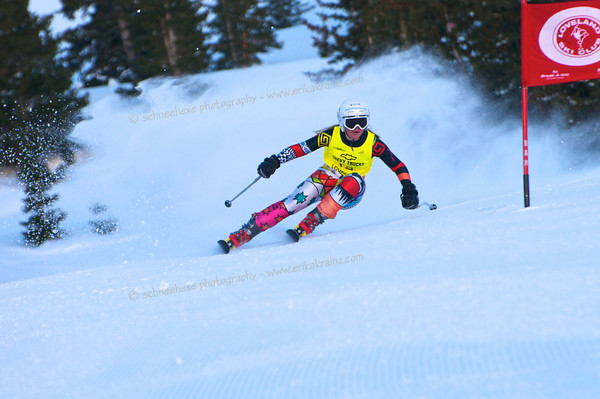 3-13-14 FIS Jr. Championships GS at Loveland - Run #1