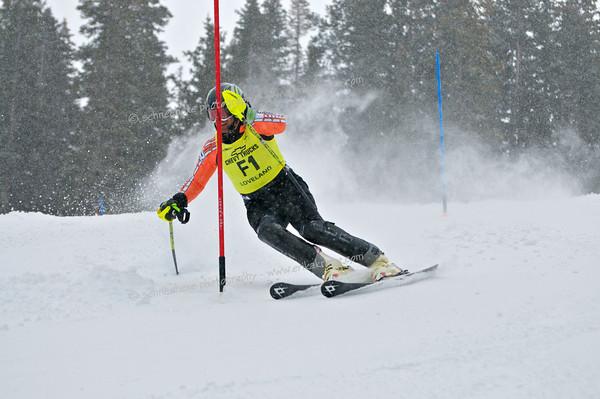 3-15-14 FIS Jr. Championships SL at Loveland - Run #1