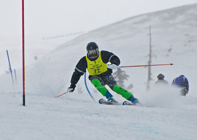 03-15-14 FIS Jr. Championships SL at Loveland - Run #2