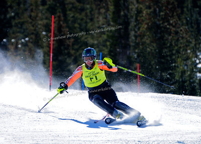 03-16-14 FIS Jr. Championships SL at Loveland - Run #2