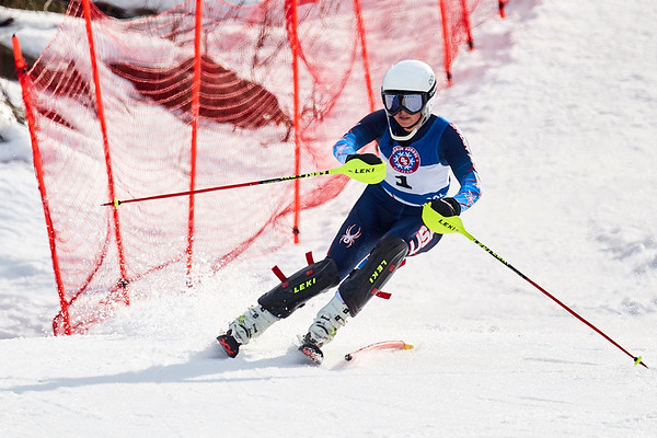 Alpine Skiing at Lakes Region Championships