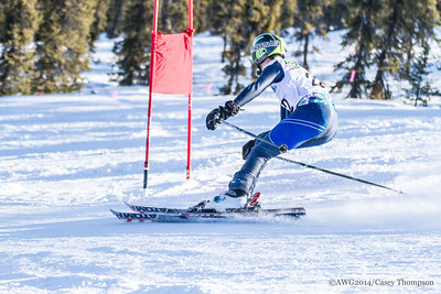 Combined Ski - Team Yukon Territory - Angus Endress