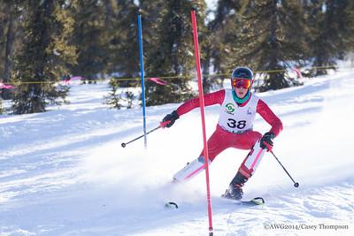 Combined Ski - Team Team Alaska - Zachary Burris