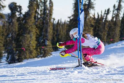Combined Ski - Team Alaska - Dorothy Chapman