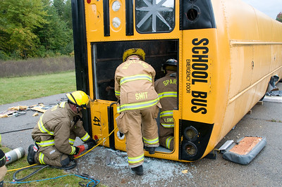 Bus Extrication Training - October 3, 2009
