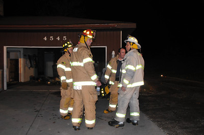 Cordes House Fire - November 10, 2008