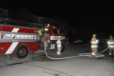 Dumpster Fire - York Creek Apartments 2/28/09